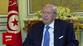 الرئيس التونسي الباجي قائد السبسي يحذر من أي تدخل عسكري أجنبي في ليبيا