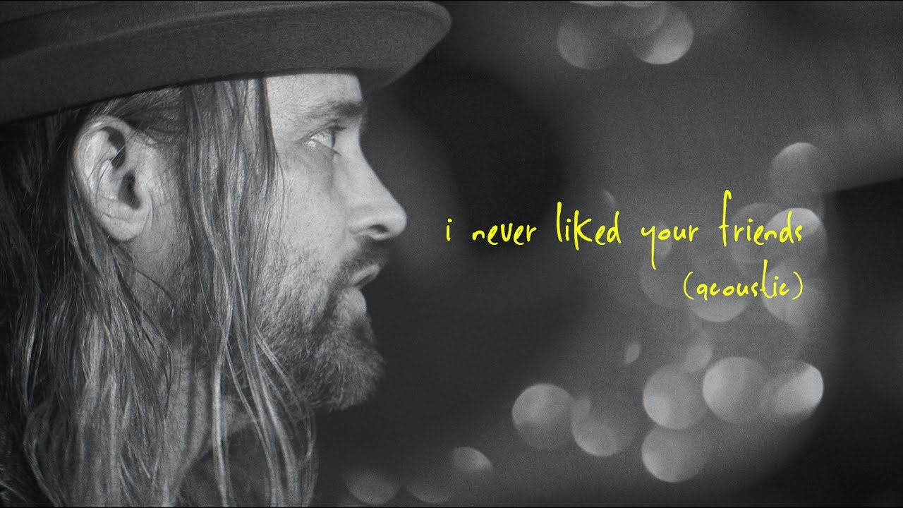 THE FEDERAL EMPIRE - I Never Liked Your Friends (Acoustic) (Official Music Video)
