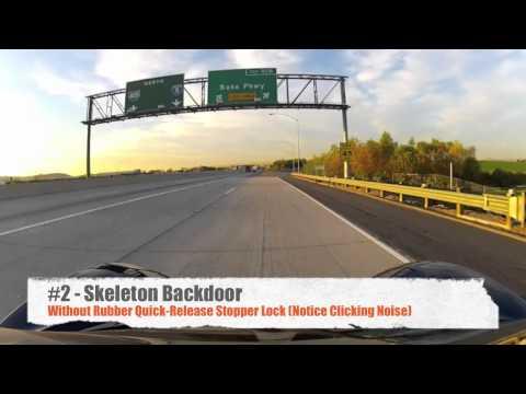 GoPro Wind Noise Test - Waterproof Backdoor vs Skeleton Backdoor vs Micover