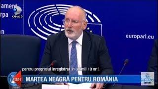 Stirile Kanal D(13.11.2018)-Martea neagra pentru Romania! Cel mai dur raport M.C.V.! Editie COMPLETA