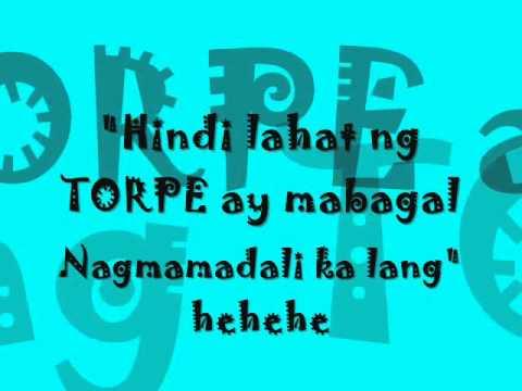 Torpedo by  Eraserheads with lyrics