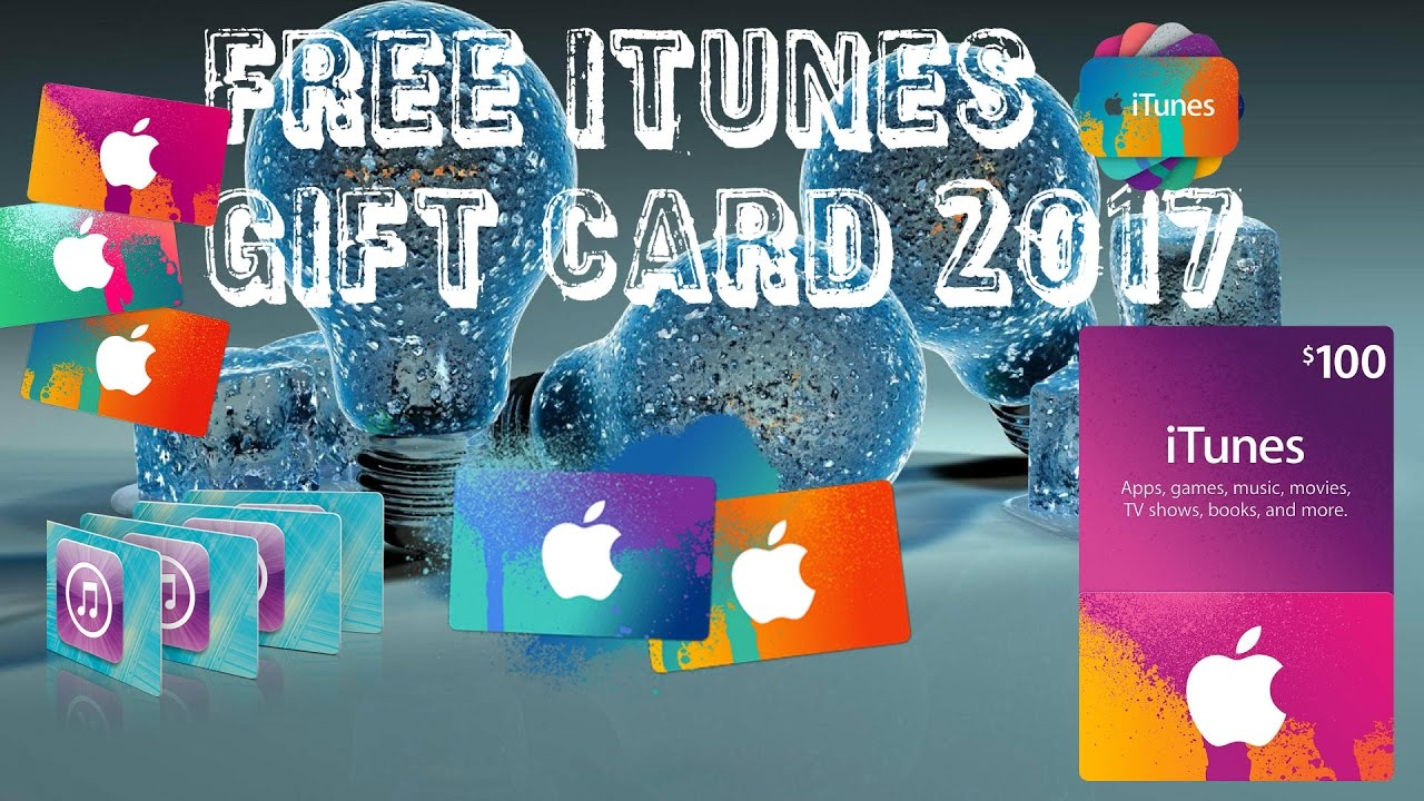 HOW TO GET A FREE ITUNES CODE 2017{NOT CLICKBAIT}