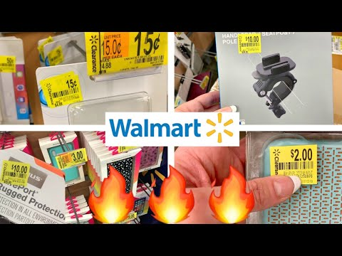 WALMART CLEARANCE!!!🔥.15 CENT PHONE CASES, $1 IPAD CASES, $10 GOPRO ACCESSORIES + TABLETS!!!
