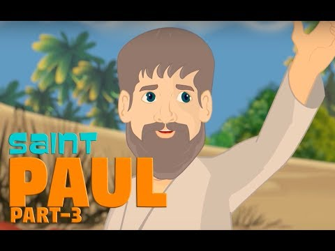 Story of Saint Paul -Part-3 | English | Story of Saints For Kids