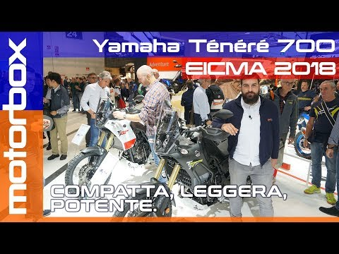 Yamaha Tenerè  a Eicma  | Compatta e potente, con l&#;anima adventure