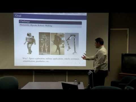 NASA Seminar on Bipedal Robots