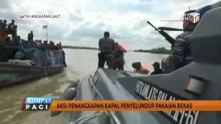 Aksi Kejar-Kejaran Patroli TNI AL dan Kapal Penyeludup