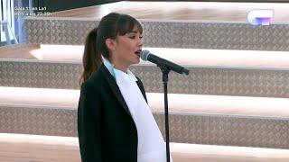 Aitana ensaya por última vez 'Procuro Olvidarte' antes de la Gala 11 | OT 2017