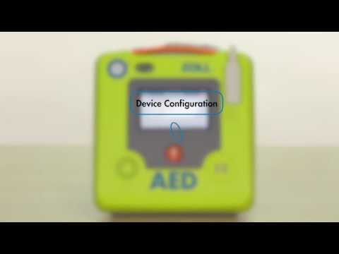 ZOLL AED 3 Basic LCD Touchscreen Configuration