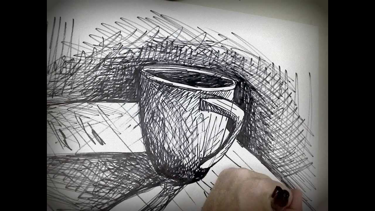Coffee cup sketch - Coffee Cup Sketch 84