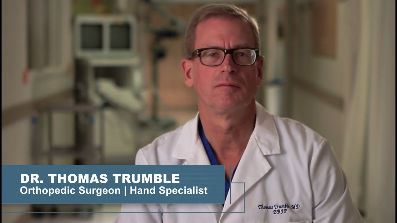 Thomas Trumble, M D  | Bellevue Orthopedic Hand and Upper Extremity