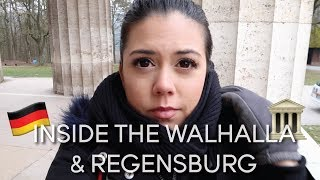 Inside The Walhalla and Exploring Regensburg || Germany Vlog