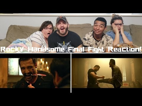 Play ROCKY HANDSOME FINAL FIGHT | Reaction!