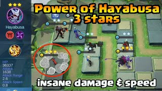 Chess TD Hayabusa 3 Star / Complete Synergy Assassin & Scarlet Shadow