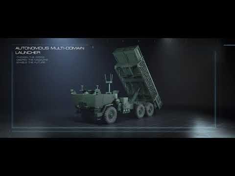AUTONOMOUS MULTI-DOMAIN LAUNCHER (AML) Simulation Video