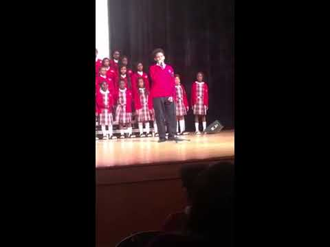 """Hold On"" Cardinal Shehan School Choir"