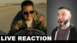 Top Gun Maverick Trailer REACTION