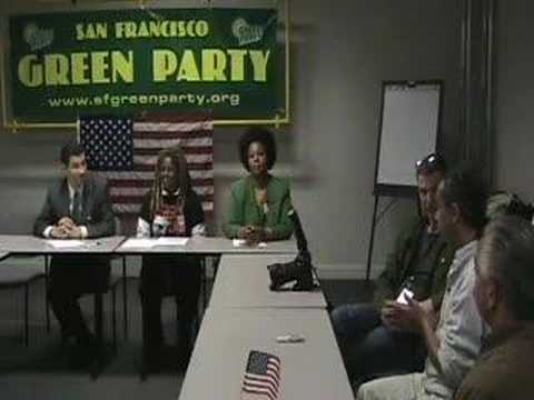 Green Party of California - Mike Feinstein on int