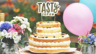 祝!Tasty Japan1周年♪ ネイキッド・フルーツケーキ   いつもありがとう...