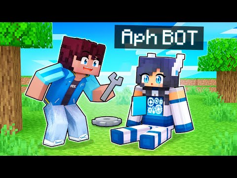 Playing As A Friendly APH BOT in Minecraft!