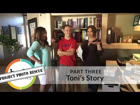 LIVE! Project Photo Rescue - Toni's Story: Part 3