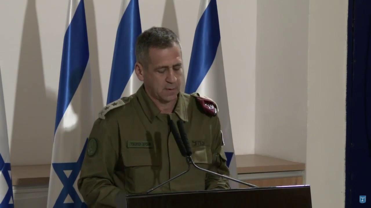 """הרמטכ""""ל: אין לישראל עניין בהסלמה, אך אנחנו ערוכים לכל תרחיש"""