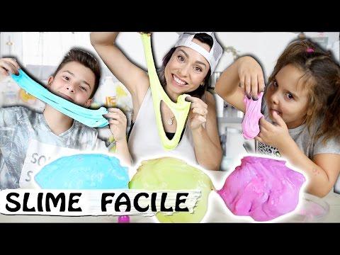 SLIME : Comment faire du Slime Fluffy avec de la mousse à raser / Tuto DIY