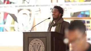 2015 MLK Celebration at Valparaiso University - Ishmael Beah