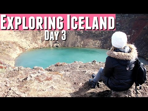 TRAVELLING ICELAND Day 3, Iceland Golden Circle Tour incl. Gullfoss Waterfall & Volcanic Crater +