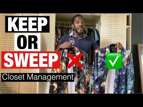 Keep Or Sweep: Closet Management