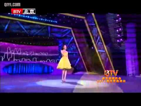 2011 BTV Beijing Television Spring Festival Liu Yifei   drizzle    YouTube 2)