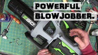 BOLTR: Ego Blower   Yes, it blows