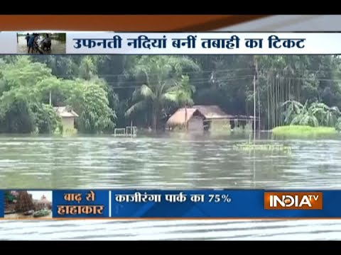 Flood situation critical in Assam, CM Sarbananda Sonowal reviews the situation