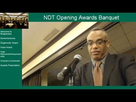 2016 NDT - Opening Banquet