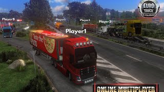 Euro truck evolution Multiplayer gameplay in Hindi|Gaming Spoof| screenshot 5