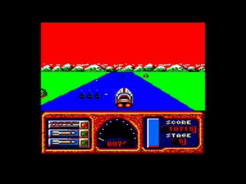 [AMSTRAD CPC] James Bond 007 : Live And Let Die - Review & Longplay