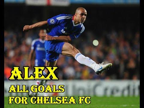 10 bàn thắng của Alex Rodrigo Dias da Costa cho Chelsea (Alex's 10 Goals For Chelsea).