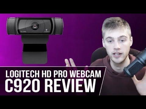 Logitech HD Pro Webcam C920 Review