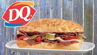 Real Reviews   Dairy Queen s Artisan-style Philly Sandwich!