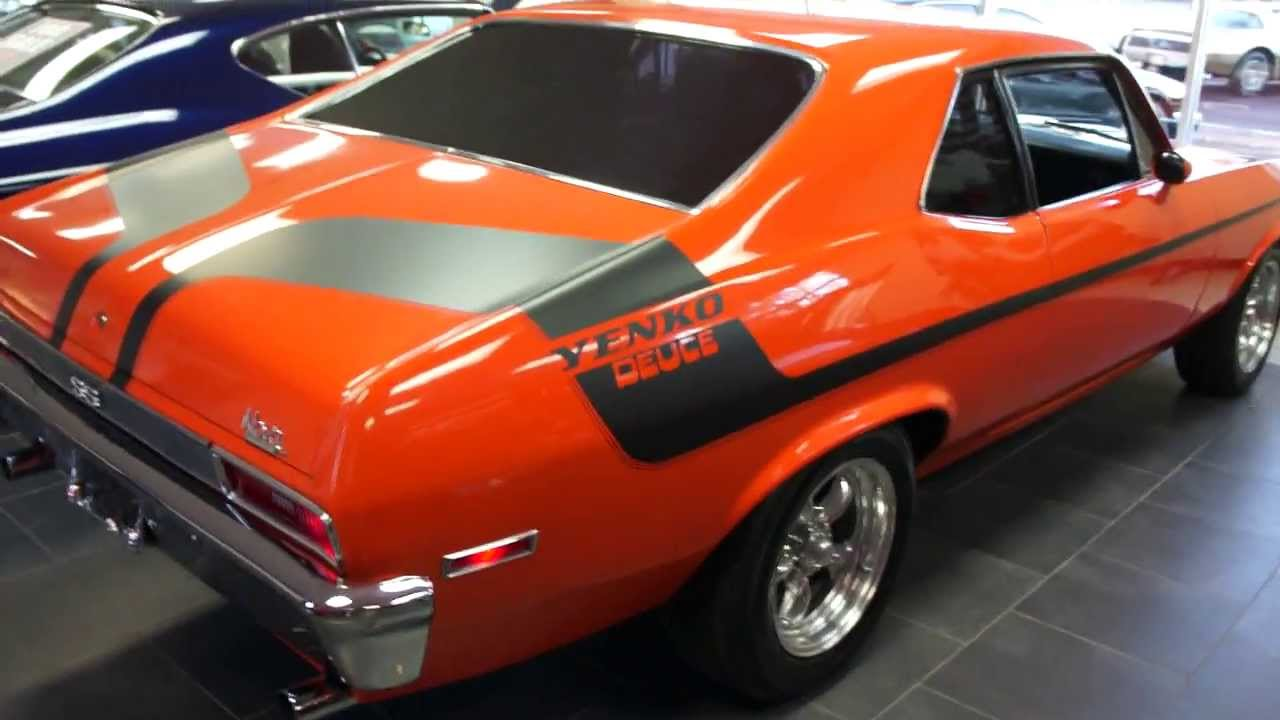 Yenko Camaro For Sale >> 1971 Nova SS For Sale~Yenko Deuce Clone~350~Sunroof~Runs ...