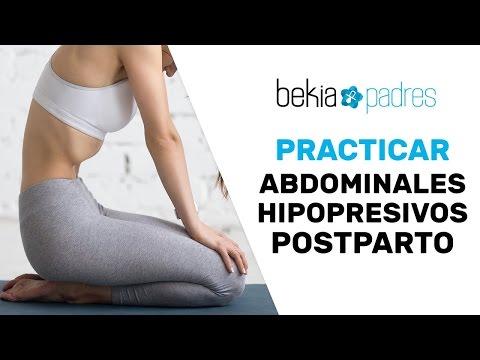 Cómo hacer abdominales e hipopresivos después del parto