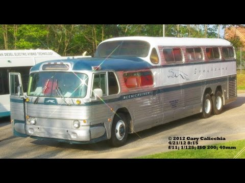Greyhound Bus Lines 1954 General Motors GM PD 4501 Scenicruiser