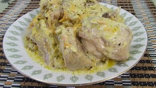 Кролик тушеный в сметане Полезное мясное блюдо - кролик тушеный в сметане