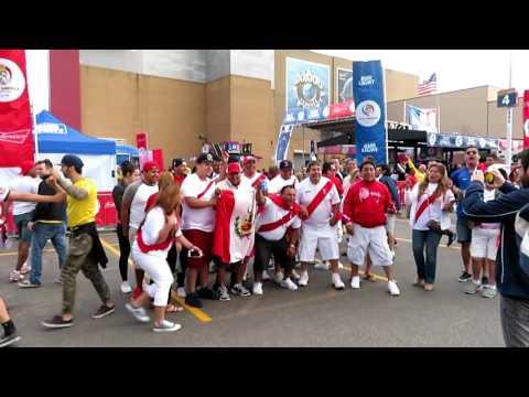 COPA AMERICA CENTENARIO USA 2016 * Perú Vs Brasil * Exterior del Gillette Stadium