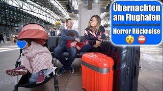 Flug hat Verspätung 😵 2 Uhr Nachts am Flughafen mit 3 Kindern! Wir wollen nach Hause! Mamiseelen