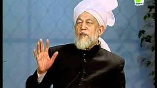 Liqa Ma'al Arab 16 December 1997 Question/Answer English/Arabic Islam Ahmadiyya