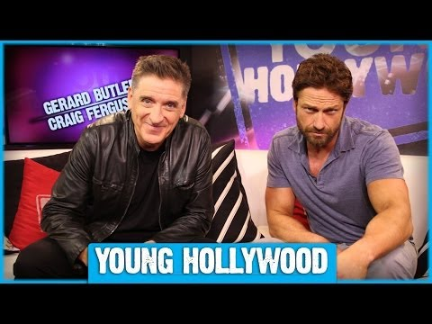 Gerard Butler & Craig Ferguson Tell Some Jokes!