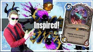 Hearthstone: Inspire is OP in Wild