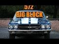 572 big block 1970 Chevrolet Chevelle burnout /PiTV