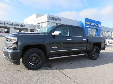 2017 silverado high country 4wd graphite metallic youtube. Black Bedroom Furniture Sets. Home Design Ideas